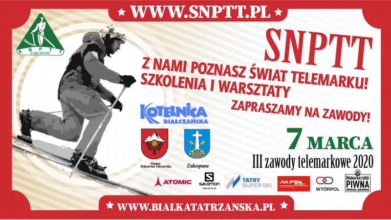 3rd TELEMARK COMPETITION OF THE SN SNT CLUB ON KOTELNICA BIAŁCZAŃSKA