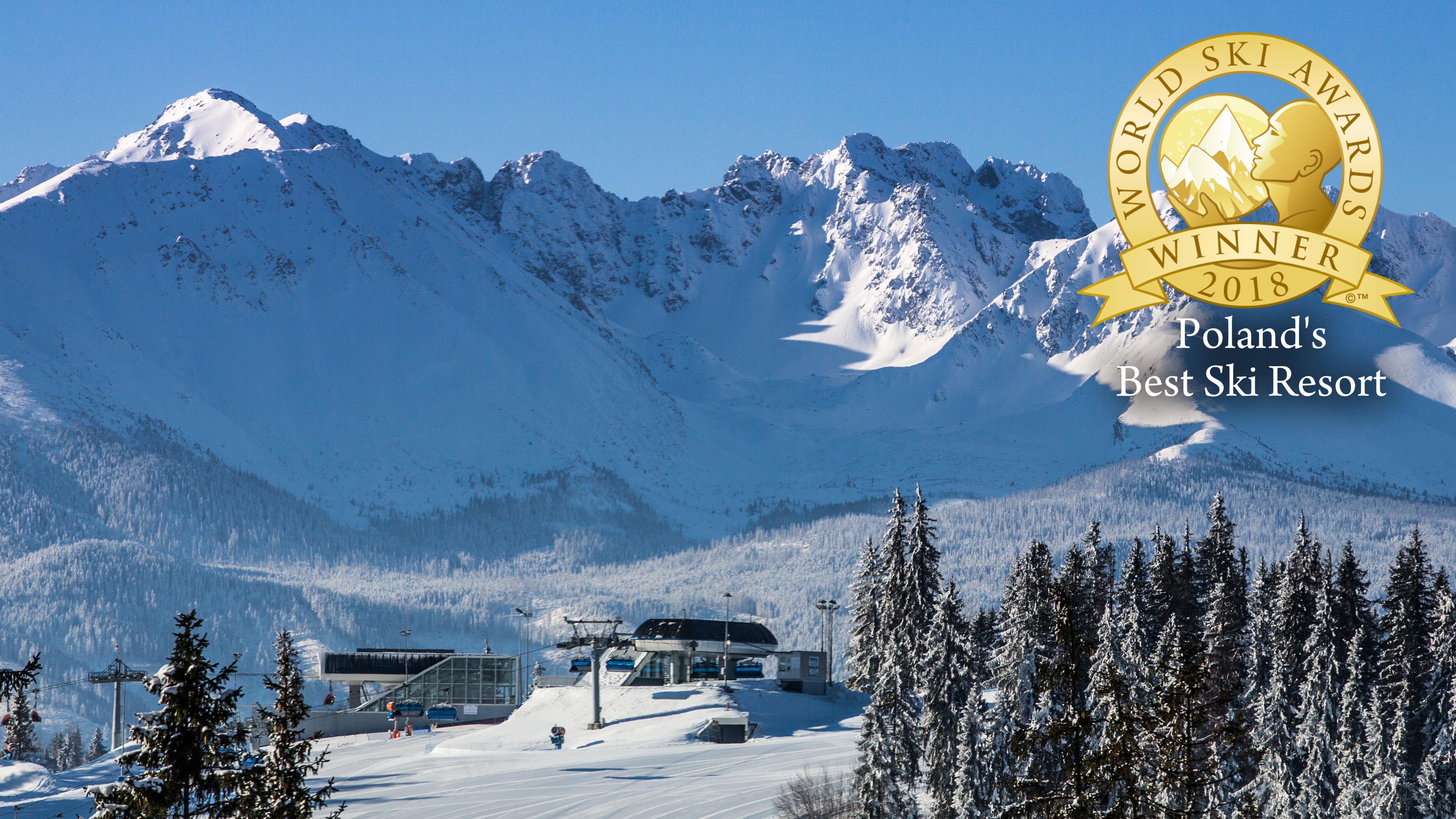 poland's best ski resort 2018   ośrodek narciarski kotelnica